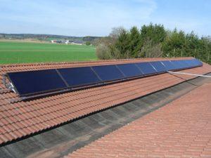 Wörle Solaranlage, Ressourcen sparen