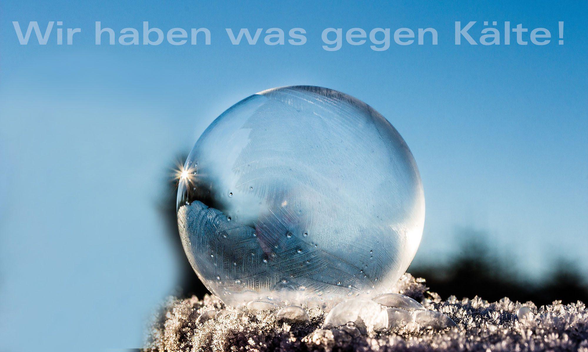 Kommen Sie gut durch den Winter Karl Wörle Solar + Heizungsbau